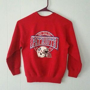 Vintage Shirts & Tops - Vintage Patriots Sweatshirt kids youth boys